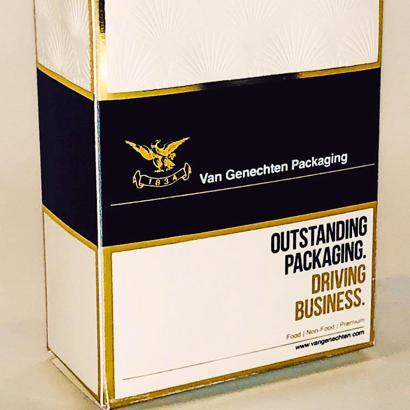 Le papier de pierre arrive dans l'emballage Premium